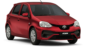Etios Hatch X Man.