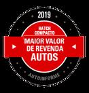 PRÊMIOS - Maior Valor de Revenda 2019 (Hatch Compacto)