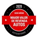 PRÊMIOS - Maior Valor de Revenda 2020 (Sedã Médio)
